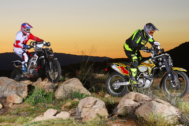 Lawson AWD motorcycles from Dirt Bike Magazine